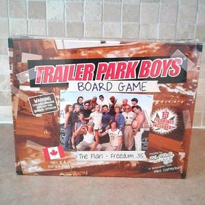 trailer park boys the plan - freedum 35 board game